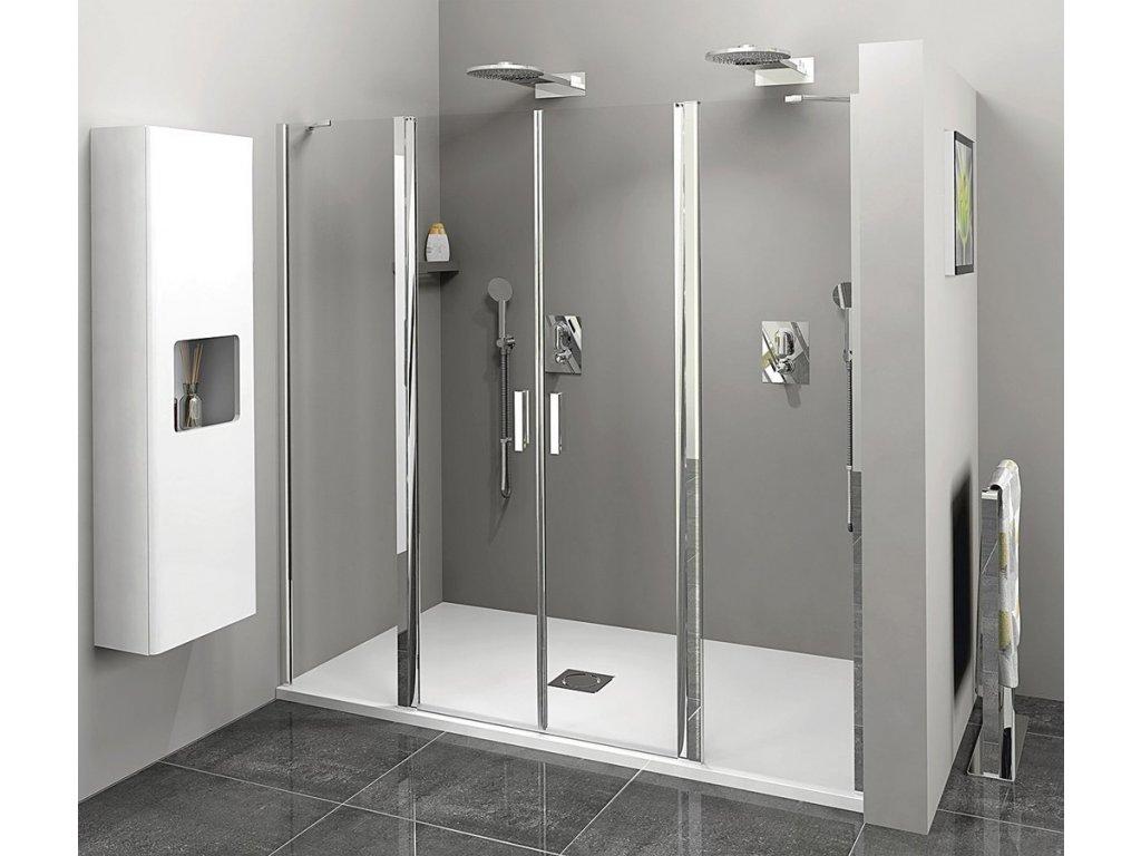 ZOOM LINE sprchové dveře 1600mm, čiré sklo