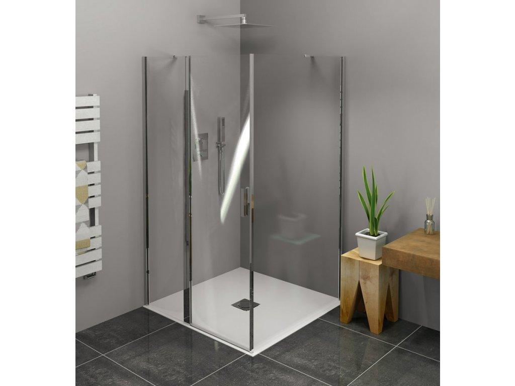 Zoom Line čtvercový sprchový kout 1000x1000mm L/P varianta