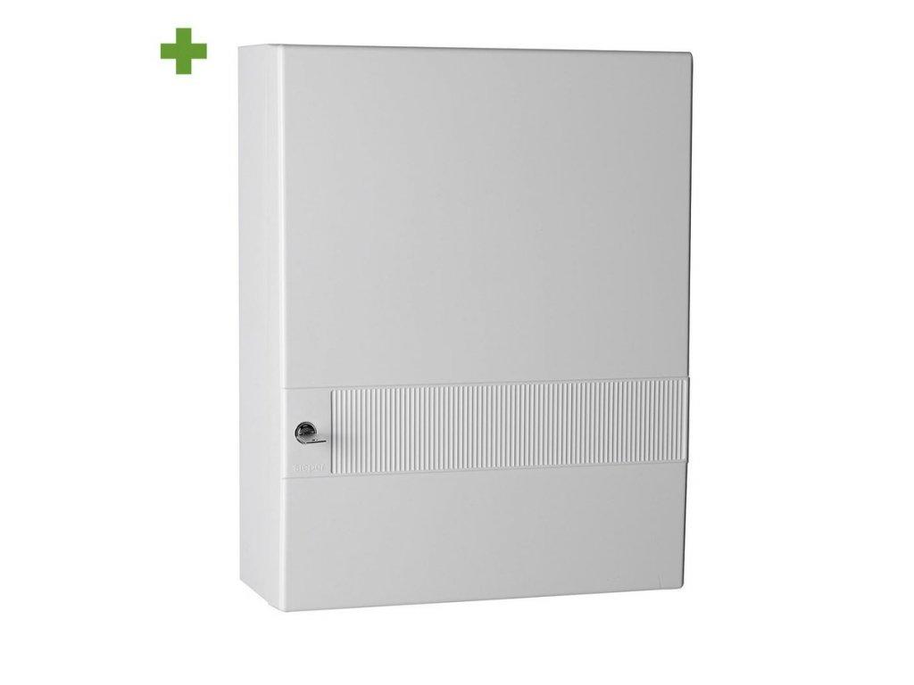 SIEPER domácí lékárnička 35x45x15cm, bílá plast