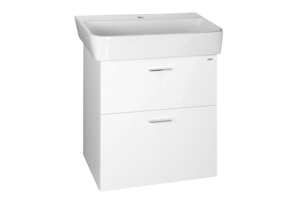 ZOJA umyvadlová skříňka šuplíková 56x50x35,6 cm, bílá