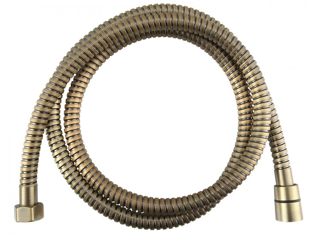 POWERFLEX opletená sprchová hadice,150cm, bronz
