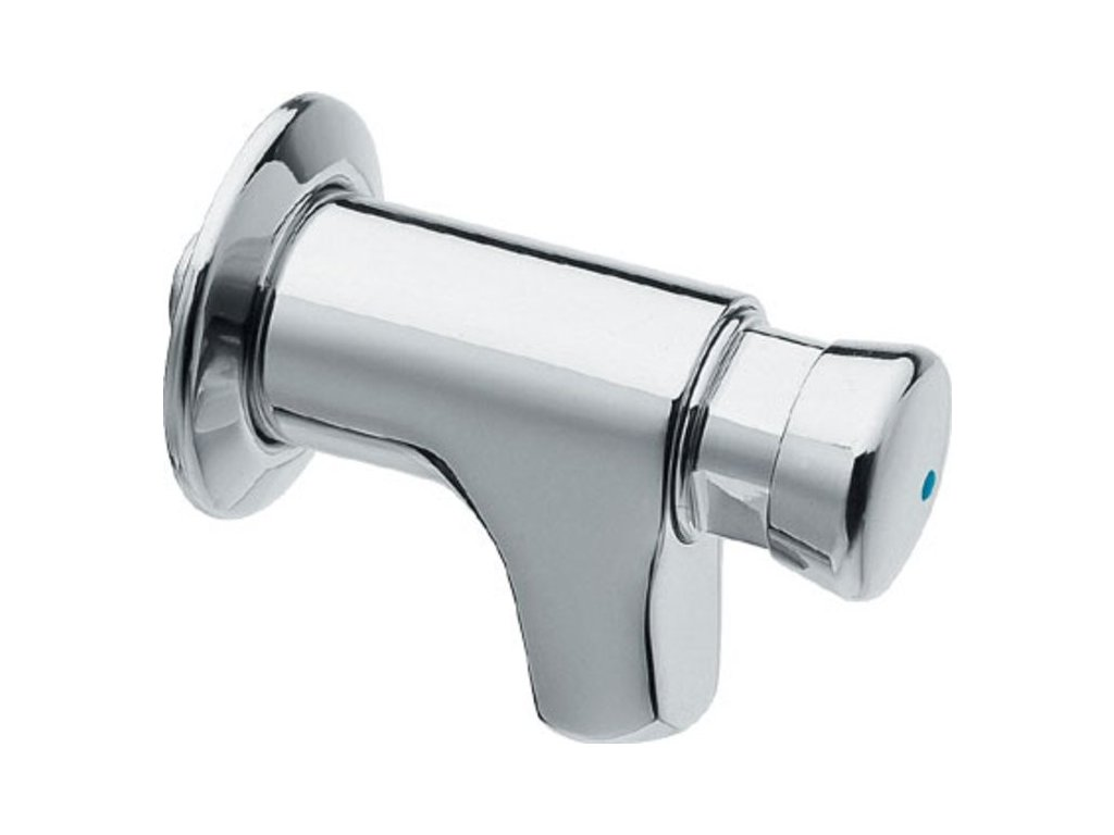 QUIK samouzavírací nástěnný ventil pro umyvadlo, chrom
