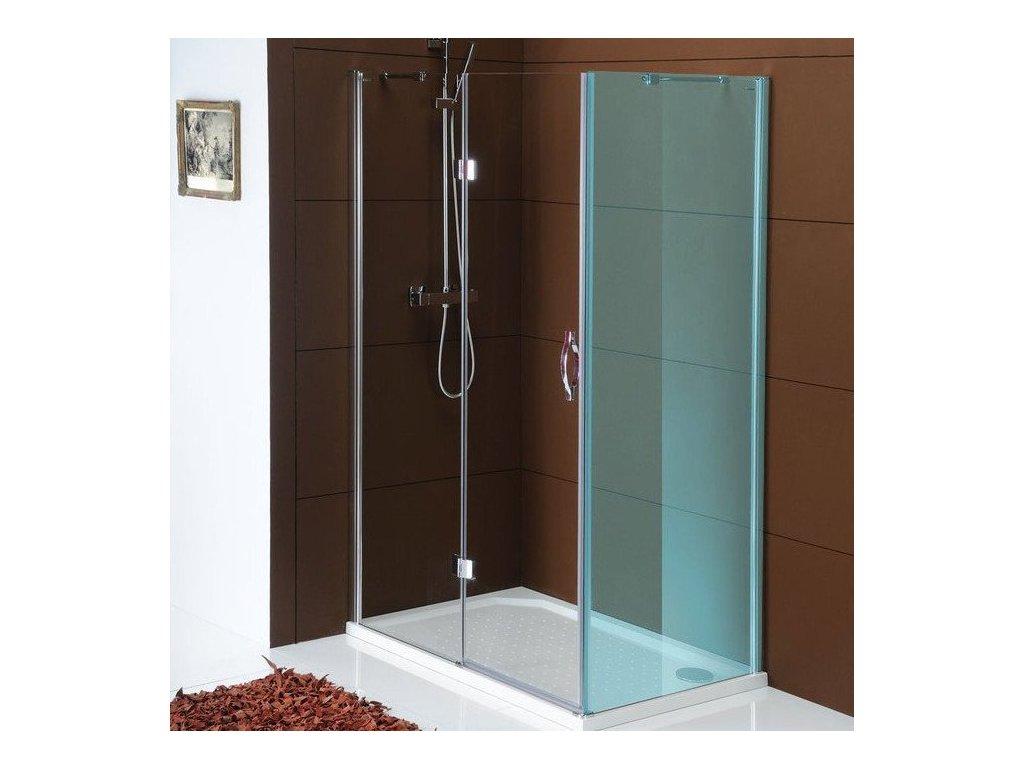 LEGRO sprchové dveře 1200mm, čiré sklo