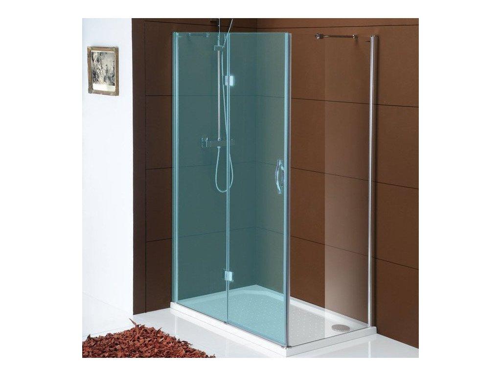 LEGRO boční stěna 800mm, čiré sklo