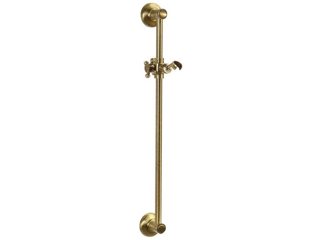 ANTEA posuvný držák sprchy, 570mm, bronz