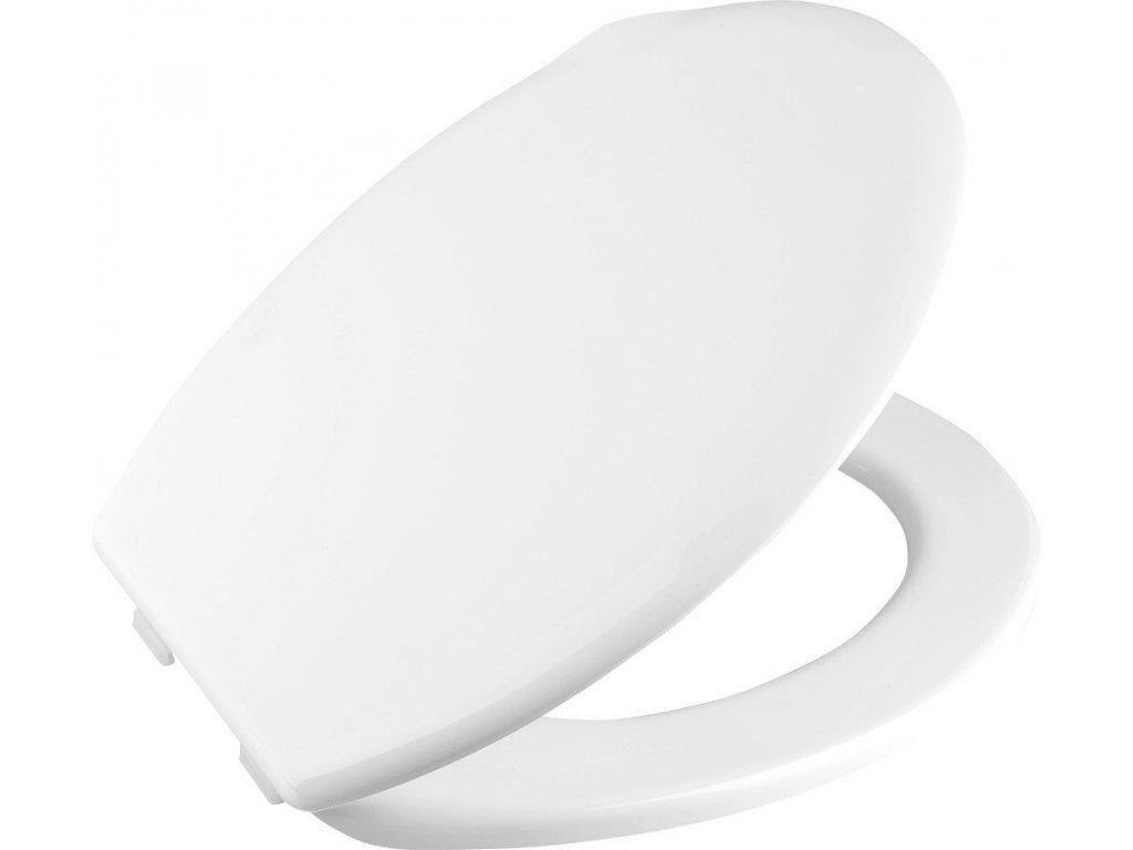 ALICANTE WC sedátko, polypropylen, bílá