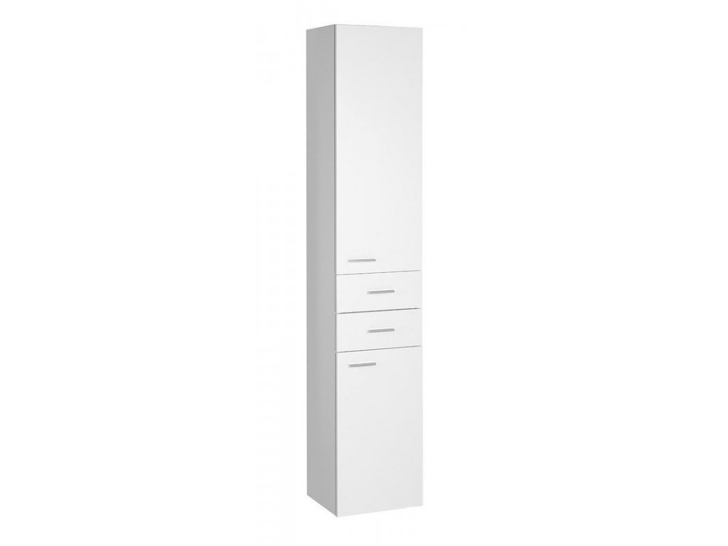 ZOJA/KERAMIA FRESH skříňka vysoká 35x184x29cm, dub platin