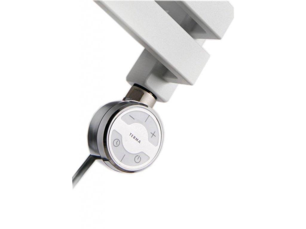 MOA topná tyč s termostatem, 300 W, chrom