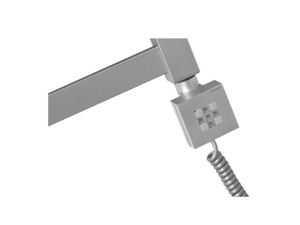 KTX topná tyč s termostatem, 800 W, stříbrná
