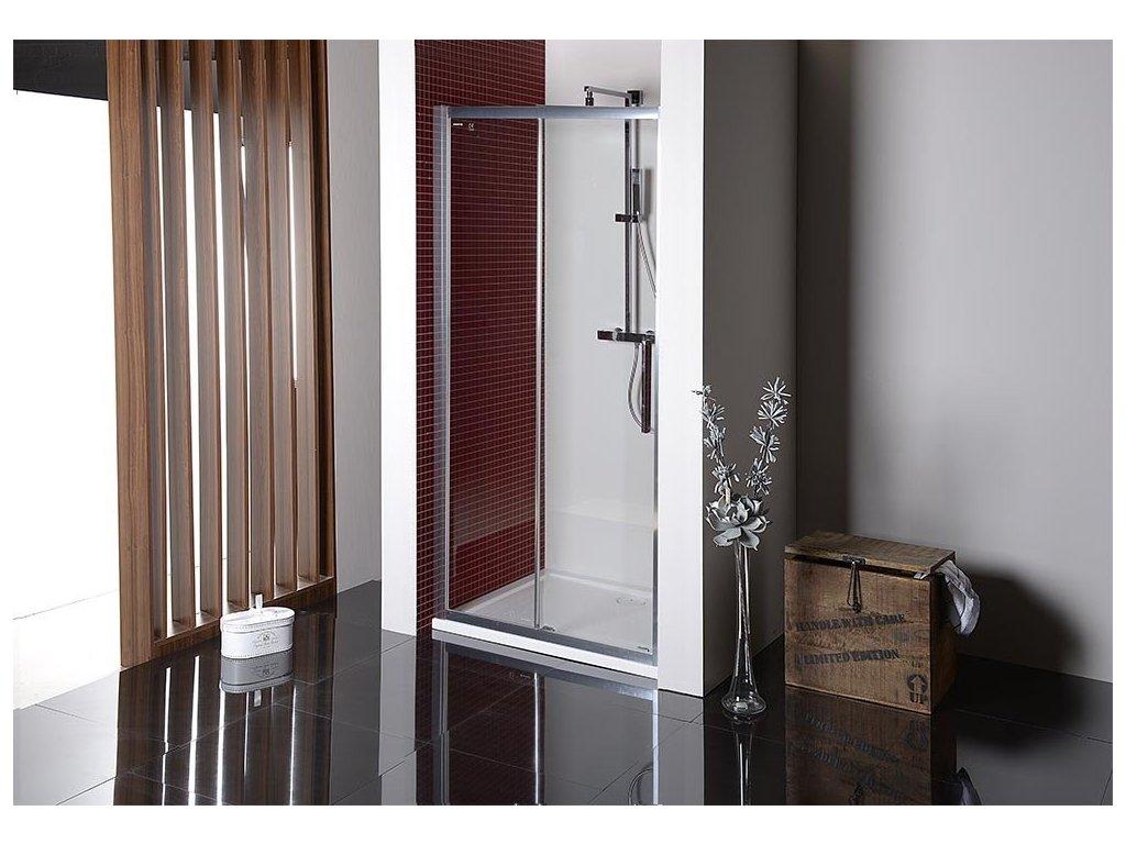 LUCIS LINE sprchové dveře 1000mm, čiré sklo