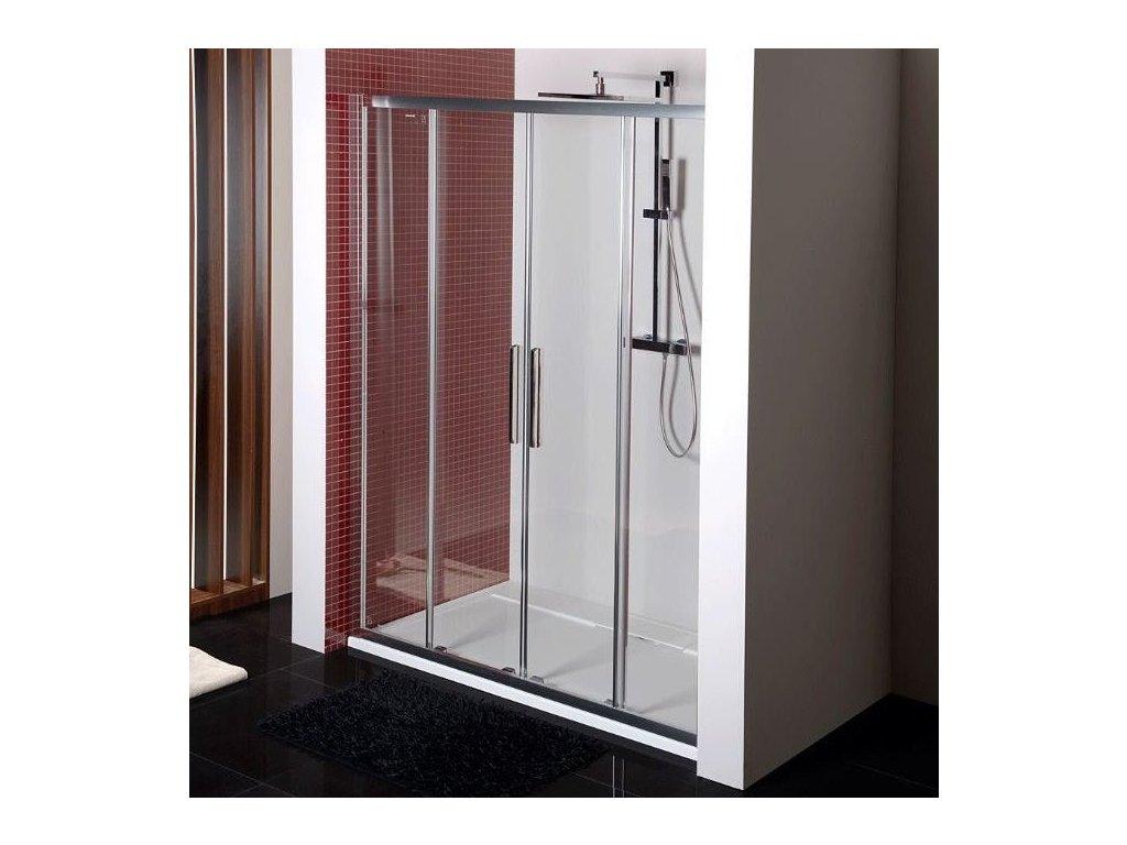 LUCIS LINE sprchové dveře 1500mm, čiré sklo