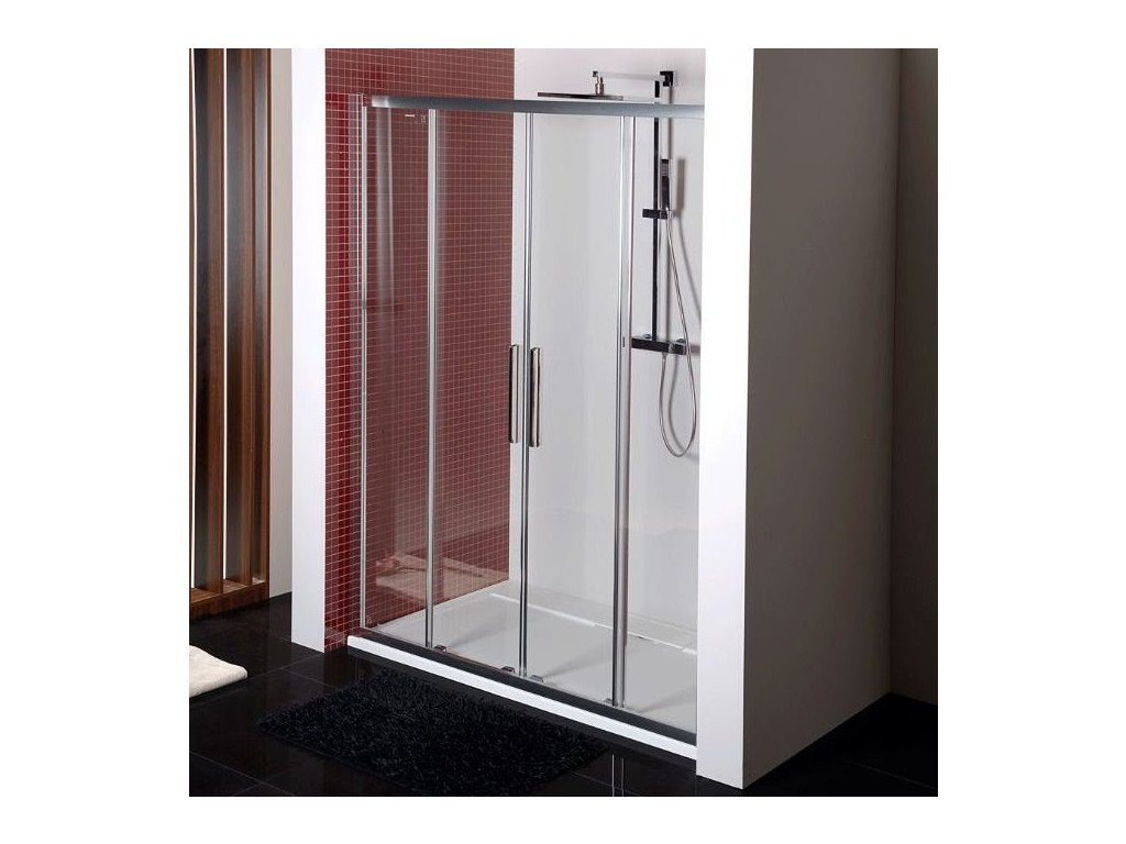 LUCIS LINE sprchové dveře 1600mm, čiré sklo