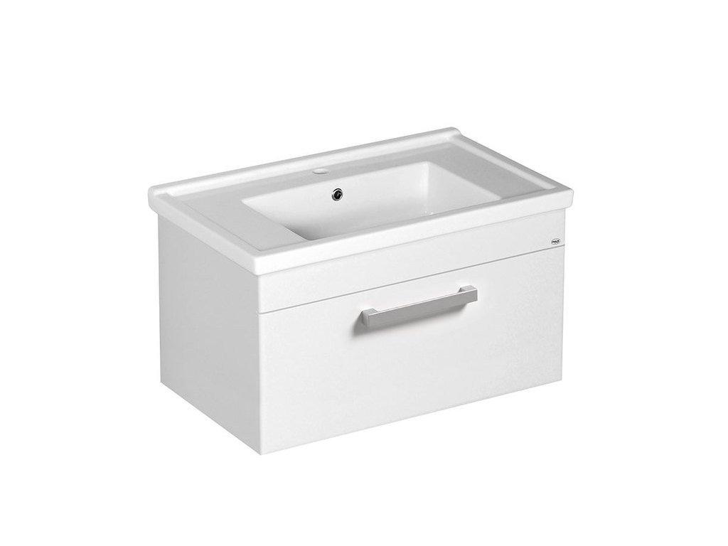 POLY umyvadlová skříňka 76x40x46,5cm, bílá