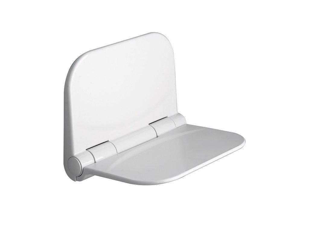 DINO sklopné sedátko do sprchového koutu, 37,5x29,5cm, bílá