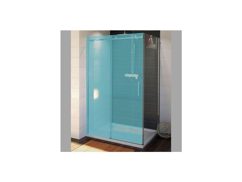 DRAGON boční stěna 1000mm, čiré sklo