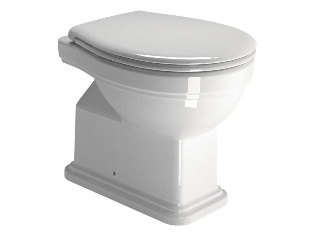 CLASSIC WC mísa 37x54 cm, spodní odpad, bílá ExtraGlaze