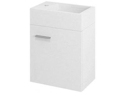 LATUS V umyvadlová skříňka 35,6x40x23cm, bílá