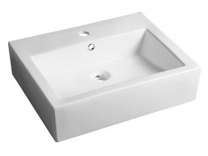 SEVILLA keramické umyvadlo 56x16x45 cm