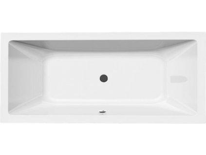 NISA obdélníková vana 180x70x42cm, bílá