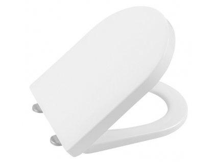 LISA WC sedátko Soft Close, duroplast, bílá