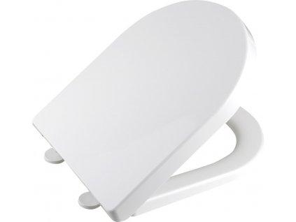 DONA WC sedátko polypropylen, soft close, bílá