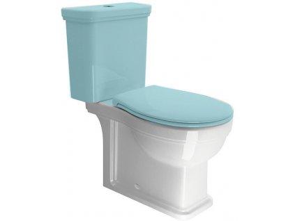 CLASSIC WC mísa kombi spodní/zadní odpad, ExtraGlaze