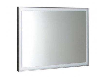 LUMINAR LED podsvícené zrcadlo v rámu 1200x550mm, chrom