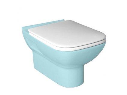 BABEL WC sedátko soft close, duroplast, bílá/chrom
