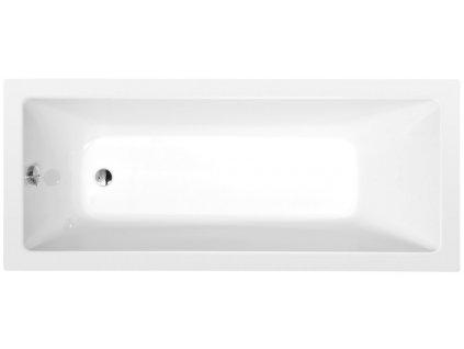 NOEMI obdélníková vana 170x70x39cm, bílá