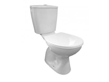 MIGUEL WC kombi, dvojtlačítko 3/6l, spodní odpad, bílá