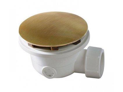 Vaničkový sifon, průměr otvoru 90 mm, DN40, krytka bronz