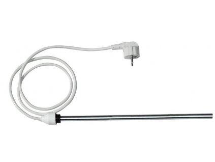 Elektrická topná tyč bez termostatu, rovný kabel, 1000 W