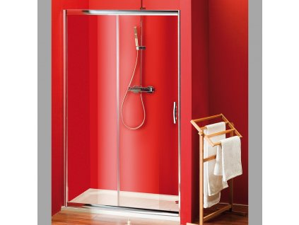 SIGMA sprchové dveře posuvné 1100 mm, čiré sklo