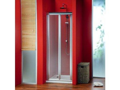 SIGMA sprchové dveře skládací 800 mm, čiré sklo