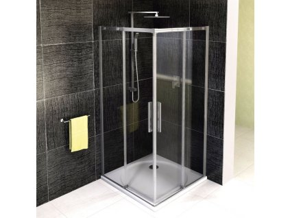 ALTIS LINE čtvercová sprchová zástěna 1000x1000mm, čiré sklo