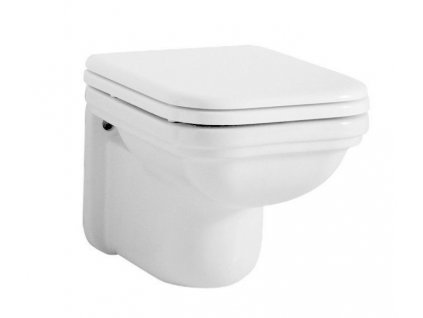 WALDORF závěsná WC mísa, 37x55cm, bílá