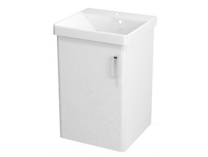 THEIA umyvadlová skříňka 46,4x70x44,2cm, 1xdvířka, bílá