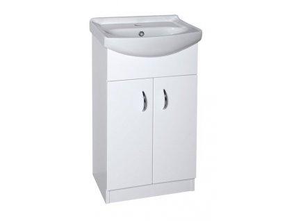 EKOSET umyvadlová skříňka včetně umyvadla 47x89,6x37,5cm, bílá