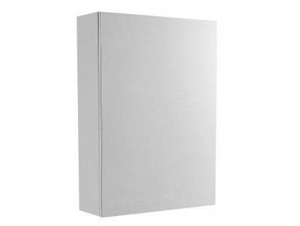 VEGA galerka, 50x70x18cm, bílá/dub platin