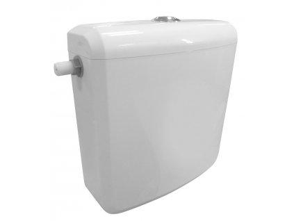 Splachovací nádržka včetně mechanismu, boční, polypropylen