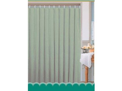 Závěs 180x200cm, 100% polyester, jednobarevný zelený
