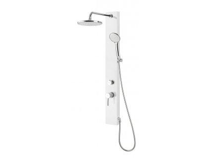 FIGA sprchový panel, 125x1050 mm, bílá