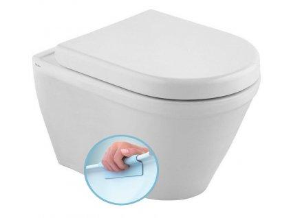 CLAUDIA WC závěsné 35,5x52cm, RIMLESS
