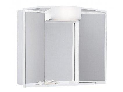 ANGY galerka 59x50x15cm, 1xE14, 7-14W, bílá plast