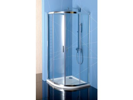 EASY LINE čtvrtkruhová sprchová zástěna 800x800mm, L/R, čiré sklo
