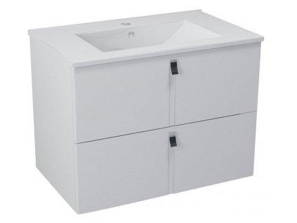 MITRA umyvadlová skříňka 74,5x55x45,2 cm, bílá