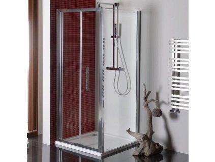 Lucis Line čtvercový sprchový kout 900x900mm L/P varianta