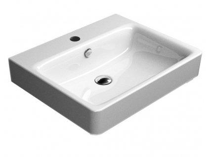 SAND keramické umyvadlo 60x50 cm, ExtraGlaze