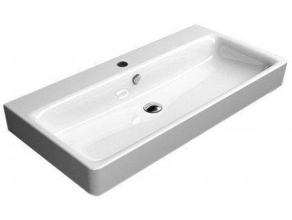 SAND keramické umyvadlo 100x50 cm, bílá ExtraGlaze