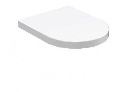 FLO WC sedátko, duroplast, bílá
